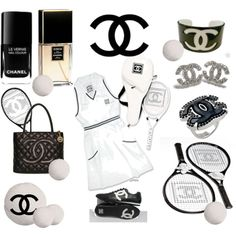 """Chanel Tennis"" by kisforkiki on Polyvore"