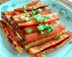 Parmesan Roasted Carrots. Simple and delish!