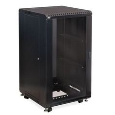 Kendall Howard Linier Glass and Glass Doors Server Cabinet Size: 22U