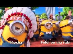Despicable me 2   YMCA Minions With Lyrics!