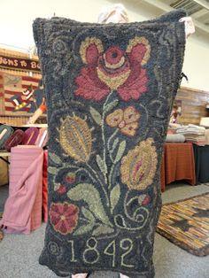 large floral design from Red Saltbox, pugsandrugsblog