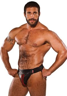 COLT Leather Zip Jock