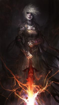 Nahiri the Lithomancer by theDURRRRIAN on DeviantArt #warlock
