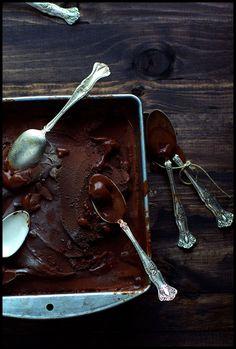 Sorbet au chocolat ... de la Maison du Chocolat