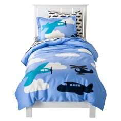 come fly away..airplane bedding opt.