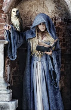 You can't know what secrets lie beneath the surface. Blue clad, cloaked witch ★