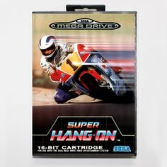 Super hangon  16 bit SEGA MD Game Card With Retail Box For Sega Mega Drive For Genesis #Affiliate