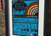 when-it-rains Print by JensLittleT & JLWIllustration