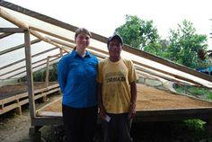"""Zu Besuch bei der indigenen Kooperative Jatari (""""Aufstand"""") im Amazonastiefland  mehr Informationen auf der Five Roasters-Homepage www.fiveroasters.de/blog/ecuador-august-2014"""