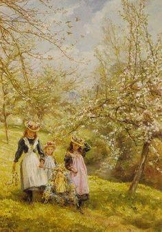 May Day ~ Edgar Barclay 1898