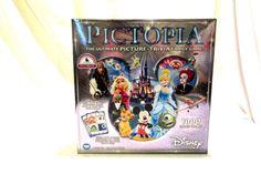 Disney Edition Pictopia Ultimate Picture Trivia Family Game New 2014 #Disney