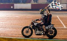 Jared Mees takes a victory lap after winning the Atlanta Short Track. (American Flat Track/Scott Hunter Photo)One week after giving Indian Motorcycle its historic first victory in American Flat Track competition at Daytona International Speedway,   #&#39Wrecking #Atlanta #Crew&#39 #Indian #Mees #Short #Sweeps #Track #wins