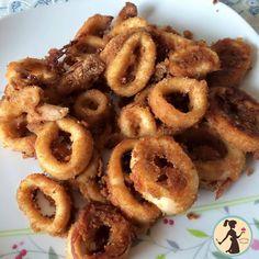 i calamari finti fritti non sono altro che i calamari al forno ma con questa ricetta non hanno nulla da invidiare ai fritti e sono anche dietettici