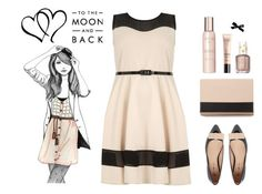 """To the Moon and Back"" by molly2222 ❤ liked on Polyvore featuring Dorothy Perkins, Daisy Street, See by Chloé, Show Beauty and Essie"