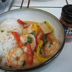 Shrimp Red Thai Curry - Allrecipes.com