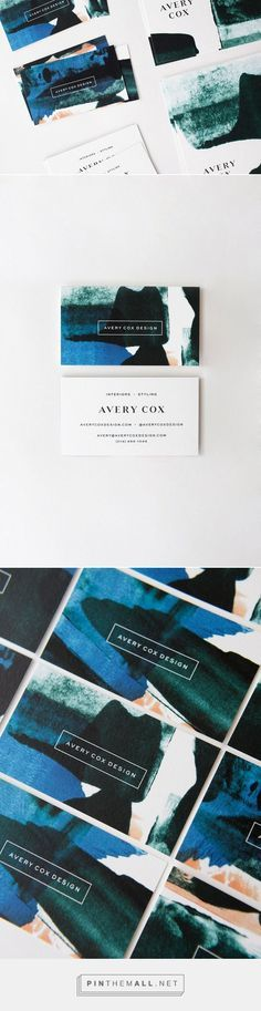Avery Cox Interior Design Business Card By Go Forth