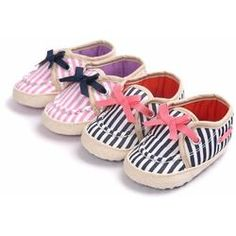 Striped Spring Shoe