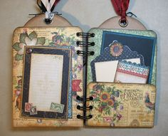 French-Country-Mini-Album-Graphic45-Annette-Green-4-of-5