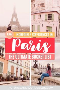 The Ultimate Paris Bucket List | 150 Amazing Things to Do in Paris | Best Paris Activities | Paris Travel Guide | Best Food in Paris | Best Paris Museums | France Travel | Things to Do in France Finland Travel, Hungary Travel, Denmark Travel, Austria Travel, Norway Travel, Paris Travel Guide, Europe Travel Tips, Paris Bucket List, Albania Travel