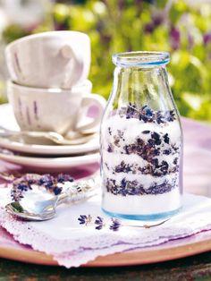 lavender sugar..