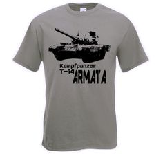 T-Shirt Kampfpanzer T-14 Armata / mehr Infos auf: www.Guntia-Militaria-Shop.de