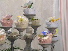 Flores y Cup Cakes