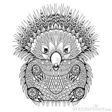 échidné australie Hand drawn Totem Echidna, Australian animal illustration for anti stress adult Coloring Page with high details isolated on white background, in zentangle style. Colouring Pics, Animal Coloring Pages, Coloring Book Pages, Coloring Sheets, Zentangle, Australia Animals, Animal Books, Stuffed Animal Patterns, Perth