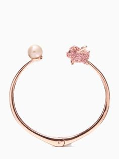 imagination pig open hinge bangle by kate spade new york Silver Necklaces, Silver Jewelry, Pig Necklace, Jewelry Box, Jewelery, Tout Rose, Cute Piglets, Pot Belly Pigs, Mini Pigs