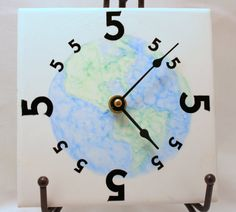 5 OClock Somewhere Clock. change it to 4 o'clock somewhere clock and put the picture of a beer in the middle :) nice gift for a boy