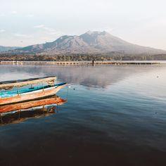 """The mountainous region around Kintamani Bali #explorebali, centering on the spectacular volcanic caldera of Mt Batur with its deep crater lake and…"""