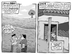 Mice Cartoon, Kompas - 15 Februari 2015: Serpong, 1980 & 2014