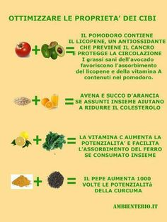 Come aumentare la biodisponibilità dei nutrienti – Face Care Ideas Healthy Drinks, Healthy Tips, How To Stay Healthy, Healthy Eating, Healthy Food, Vegan Recipes Easy, Raw Food Recipes, Fitness Nutrition, Health And Nutrition