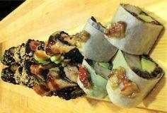 Union Sushi's black rice sushi sampler. (Photo: Union Sushi) #EatAtUnion