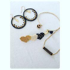 Seed Bead Necklace, Seed Bead Jewelry, Jewelry Making Beads, Beaded Jewelry, Handmade Jewelry, Bead Loom Bracelets, Geek Jewelry, Bijoux Diy, Bracelet Patterns