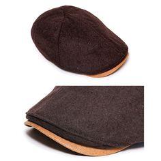 Unisex Mens Womens Wool Flat Cap Ivy Winter Newsboy Cabbie Gatsby Driver Hats   eBay
