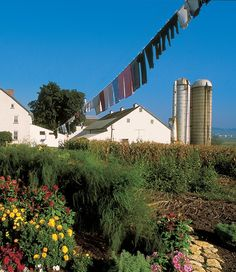 Amish Farm - Lancaster, PA..Truly is God's Country..it looks just like this!