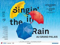 Affiche metro Singin