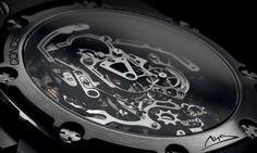 """Audemars Piguet - Royal Oak Concept Laptimer """"Michael Schumacher"""".  #Movement #luxury #watches #AudemarsPiguet"""