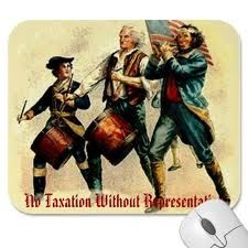 "A battle cry during the American Revolution was ""No taxation without representation"" this was for the reason American colonist had no representative in parliament. American laws were passed by non-american citizens and seemed to only benefit Great Britain."