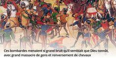 Guerre de 100 ans, révolution dans l'art de combattre. De quelle bataille parle Froissart ? #histoire de #France en #citations