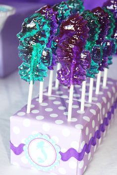 Little Mermaid Birthday Party Ideas | Photo 1 of 39 | Catch My Party