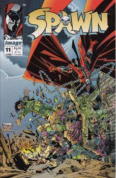 Spawn #11D  (1992) - June 1993 - Image Comics - Grade NM