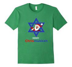 Chrismukkah Shirt, Christmas and Hanukkah, Holiday Gag Gift #christmas #hanukkah #chrismukkah #santa