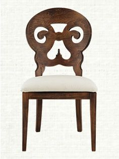 Stately Dinner Seating The Harman Dining Chair In Arhaus