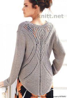43 Sweaters by Lana Grossa - TricoTropiCam - Knit Vest Pattern, Sweater Knitting Patterns, Knitting Designs, Knit Patterns, Free Knitting, Crochet Shawls And Wraps, Knitted Shawls, Knitwear, Knit Crochet