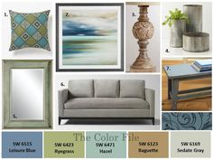 Let the colors from your home inspire your next color choice.
