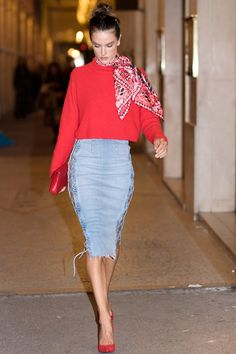 Throw on a Scarf | Make sure you bookmark this page for the next time you're in a style dilemma.