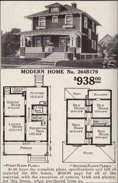 Google Search Vintage House Plans