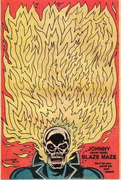Ghost Rider Illustration