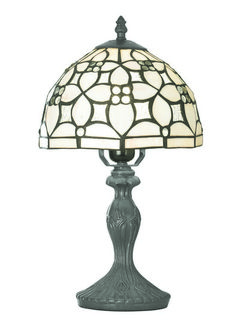 Stolní lampa SEARCHLIGHT SL 1648-8PW | Uni-Svitidla.cz Rustikální pokojová #lampička vhodná jako doplňkové osvětlení interiérových prostor #rustic, #old, #lamp, #table, #light, #lampa, #lampy, #lampičky, #stolní, #stolnílampy, #room, #bathroom, #livingroom
